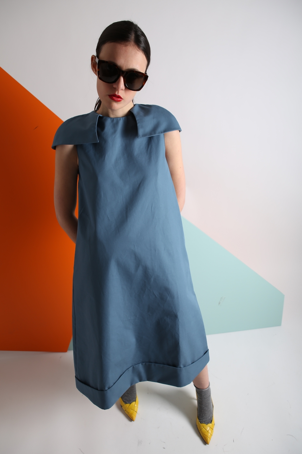 Gingi Cape dress 18