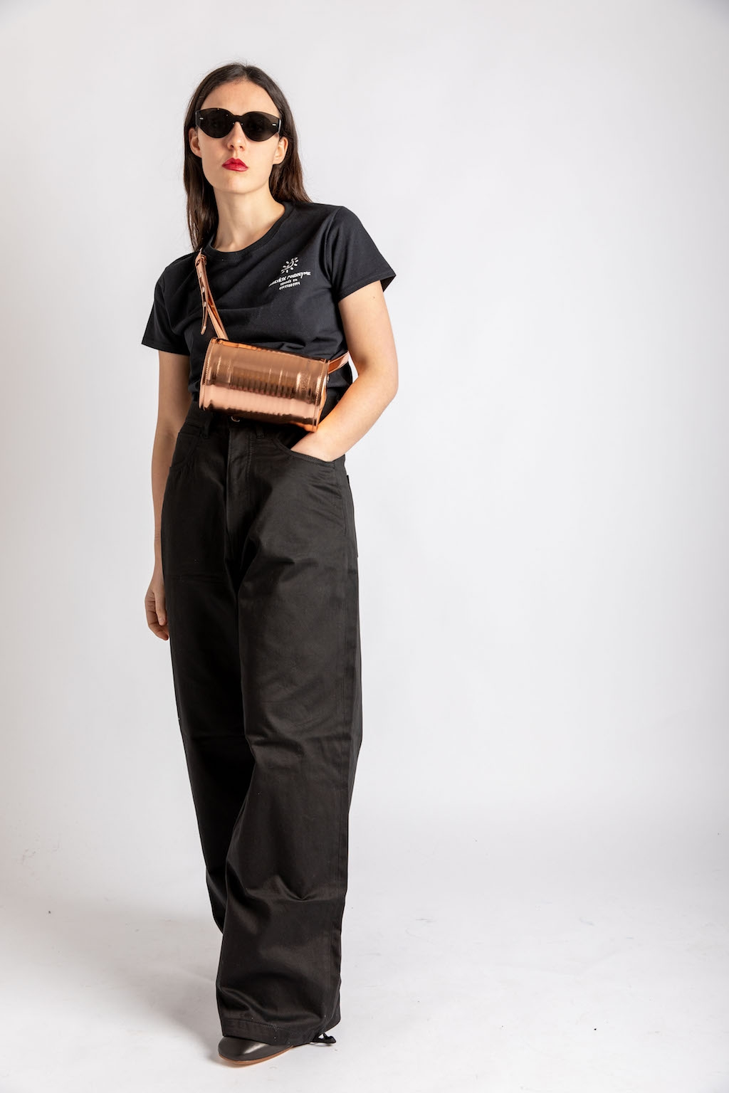 Sunny tee + Fabien pants and MM6 bag