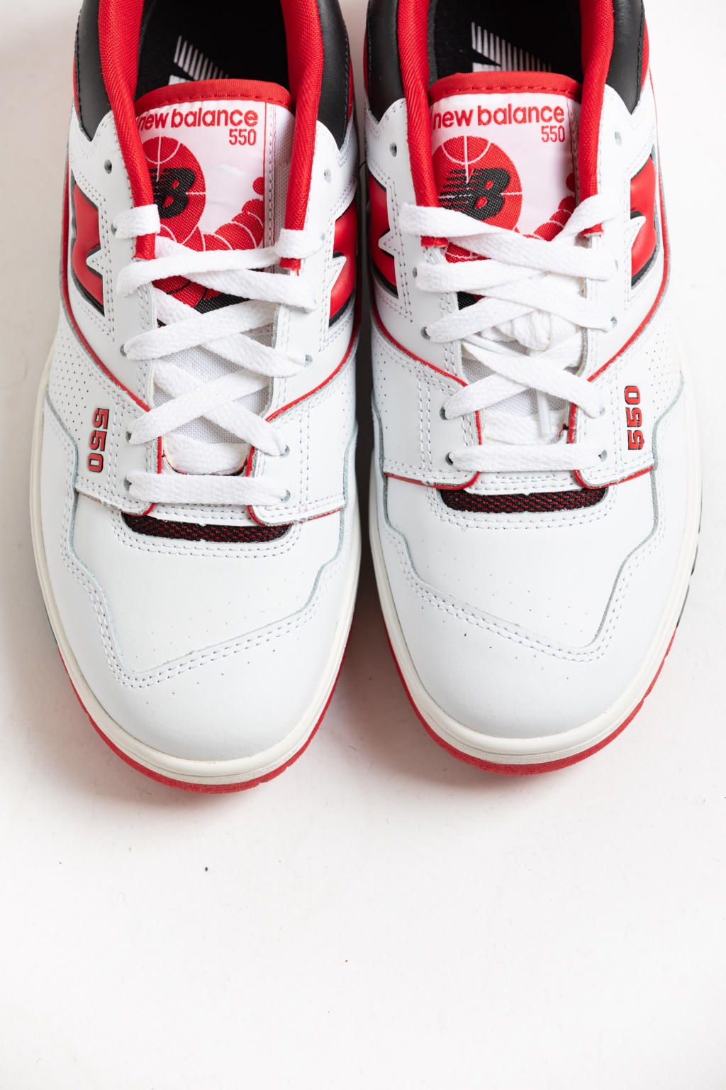 New Balance 550 White-Red in store!ce