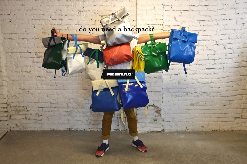 Freitag - Do you need a backpack?