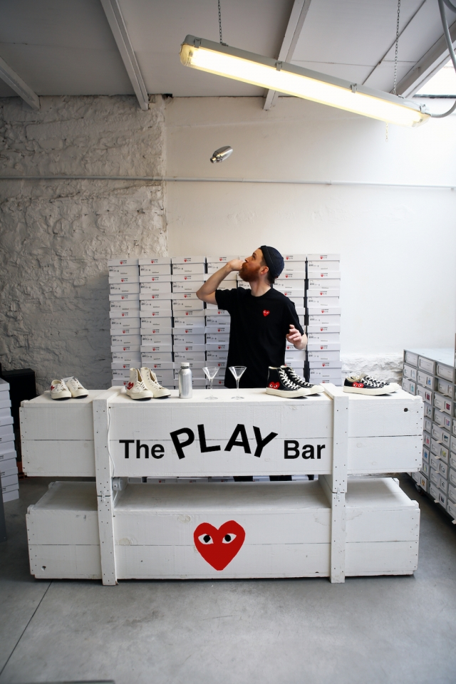 The Play Bar, Comme des Garcons Play Converse