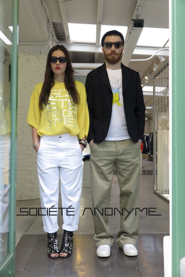 Sociét&eacute Anonyme SS16 collection