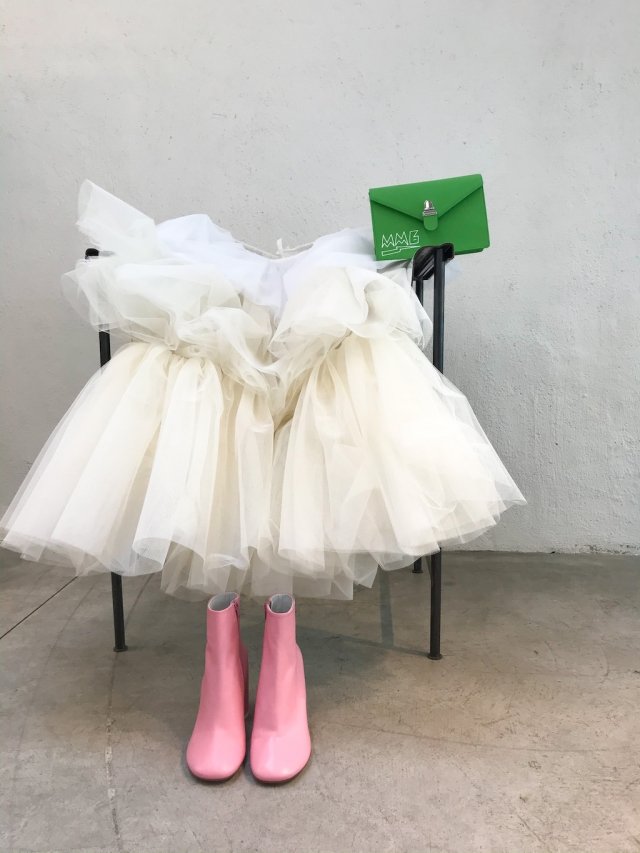 MM6 tulle skirt and others
