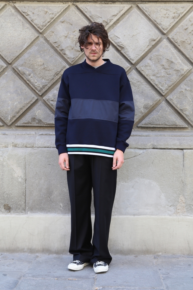 Marni aw18 sweater + Société Anonyme trousers
