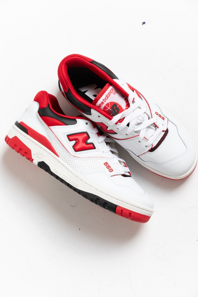 New Balance 550 White-Red in store!