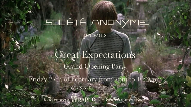Events Great expectations grand opening party
