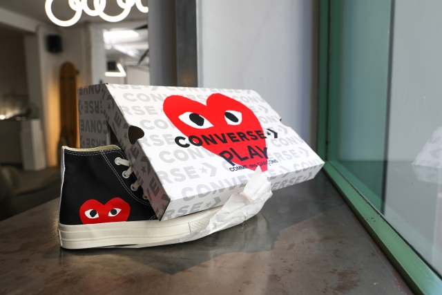 Comme des Garçons PLAY are back in store!!! Available also at shop.societeanonyme.it