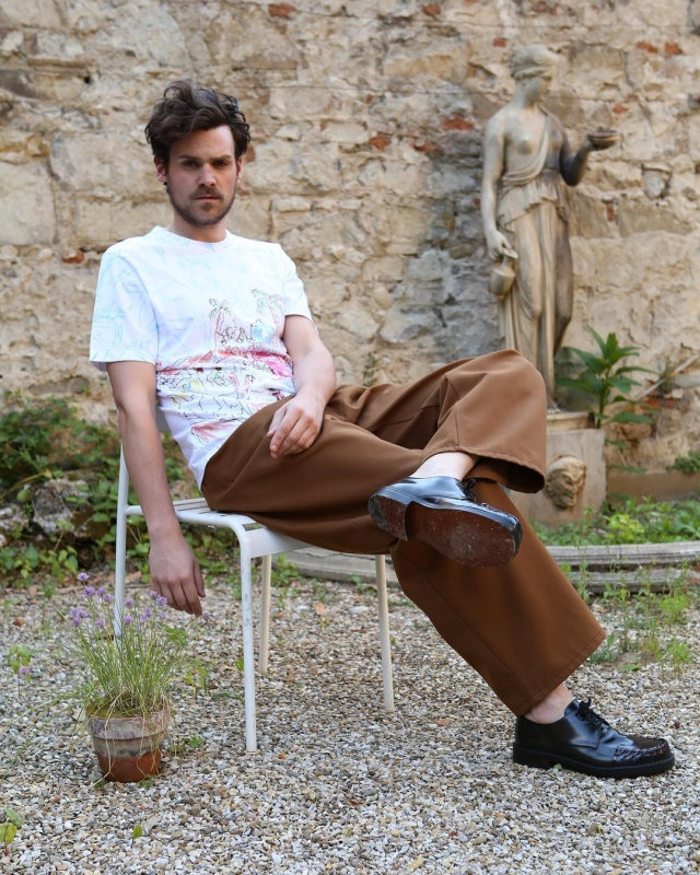 Marni t-shirt, trousers and shoes