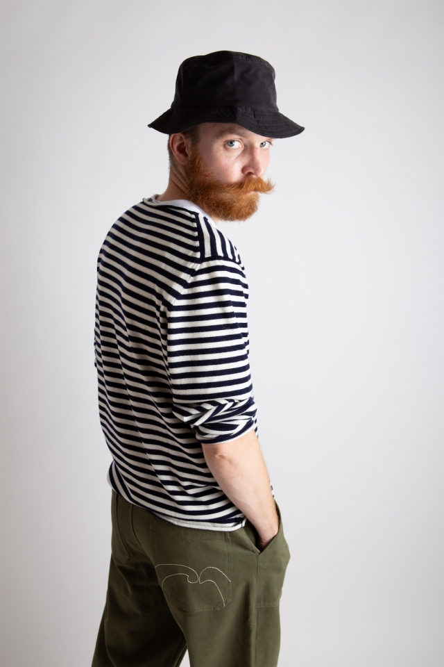 Société Anonyme trousers and stripes